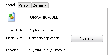 GRAPHICP.DLL properties