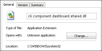 cli.component.dashboard.shared.dll properties