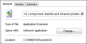cli.component.dashboard.shared.private.dll properties