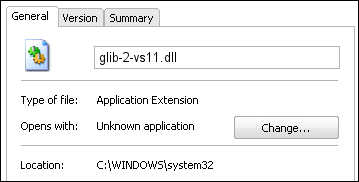glib-2-vs11.dll properties